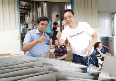 Indian customers purchased Pineapple Juice Processing Line