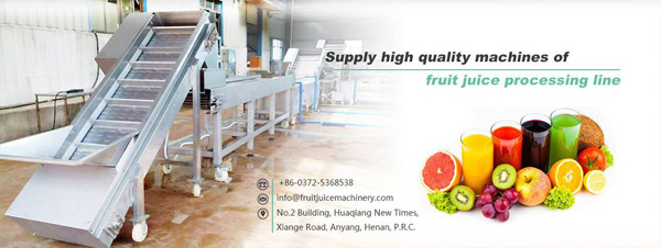 fruit juice machinery potential