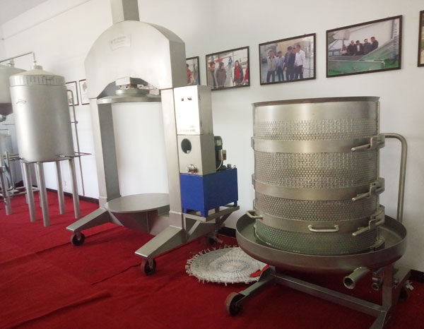 parts of hydraulic vertical juicing press machine