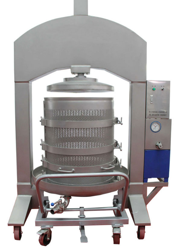 vertical press machine